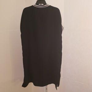 Zara Dresses - Zara black and white shirt dress sz S